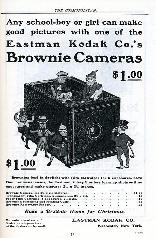 Brownie Camera ad