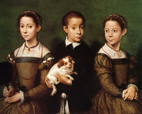 Portrait of the Artist's Sisters and Brother