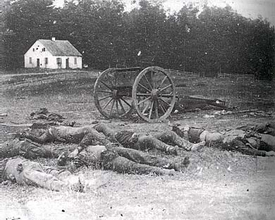 Carnage at Antietam