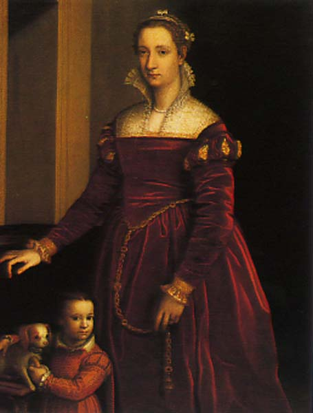 Double Portrait of a Lady and Her Daughter